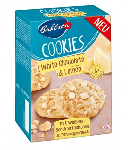 Bahlsen White Chocolate & Lemon Cookies