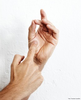 Fingertrick, Garstufen prüfen, Medium