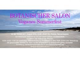 1. Veganes Sommerfest am Ostseebad Prerow