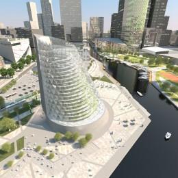 So soll Europas erstes vertikales Gewächshaus aussehen, das in Schweden gebaut wird