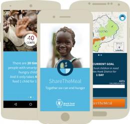 """Mit """"Share The Meal"""" einfach spenden und hungernden Kindern helfen"""