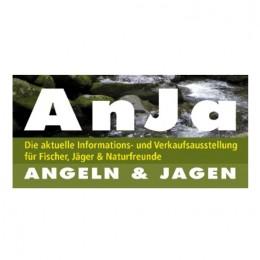 """Das Logo von der Messe """"AnJa"""" - Angeln & Jagen"""