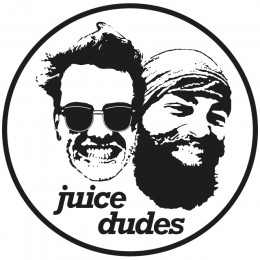 Das Logo von den Juice Dudes