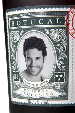 Ron Botucal Reserva Exclusiva Rum, Botucal ganz persönlich Etikett mit Bild