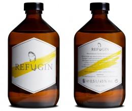 Köstlicher Gin und wohltätiges Projekt: Refugin