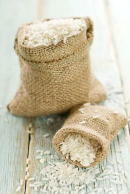Reissack, Sack mit Reis