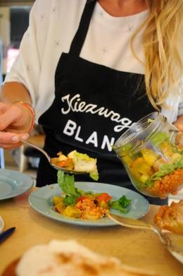 """Rote-Linsen-Salat vom Foodtruck """"Kiezwagen Blank"""""""