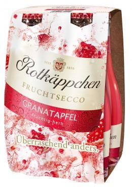 Rotkäppchen Fruchtsecco 4er-Pack Granatapfel