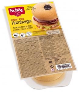 Produktfoto: glutenfreie Burger-Brötchen von Schär in Verpackung