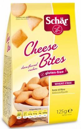 glutenfreier Snack von Schär: Verpackung Cheese Bites