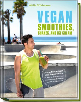 Das neue Buch von Attila Hildmann: Vegan Smoothies, Shakes, and Ice Cream
