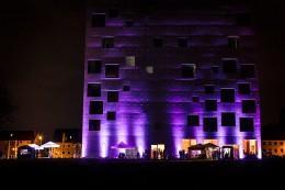 Veranstaltungsort Zeche Zollverein in Essen der Langen Nacht der Weine