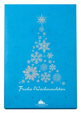 adventskalender, weihnachten, kalender, advent, Lauenstein, schokolade, confiserie, klassisch