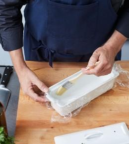 wie macht man, anleitung, schritt für schritt, kochschule, sülze, geflügelsülze, terrinenform vorbereiten