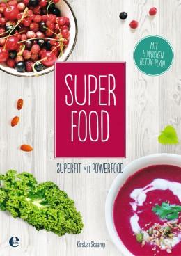 Kochbuch, Superfood, Superfit mit Powerfood, Buchcover, Kirsten Skaarup