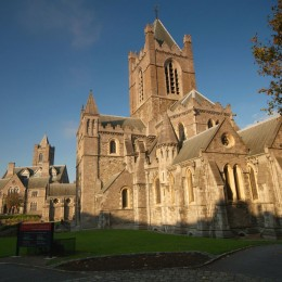 Die Christ Church Cathedral von Dublin