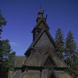 Stave-Kirche in Oslo