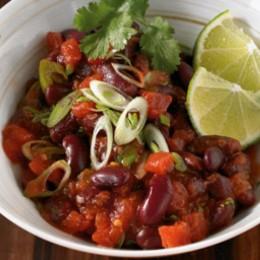 Rote Bohnen Gemüse