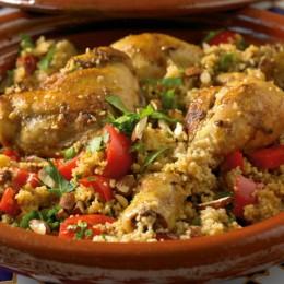 Marokko-Hähnchen