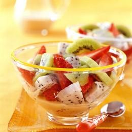 Kiwi im Salat