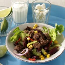 Chili con carne-Salat