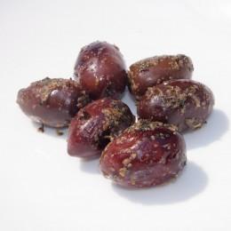 Griechische Kalamata-Oliven