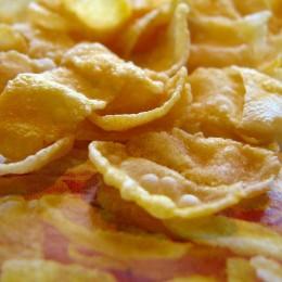 Naturbelassene Cornflakes