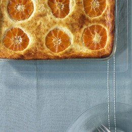 Mandarinen im Kuchen