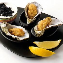 Gebackene Austern