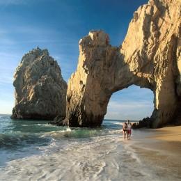 Strand im Süden von Baja California