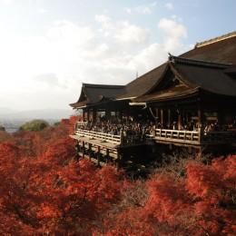 Kiyomizu-Tempel in Kyoto