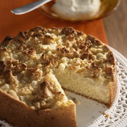 Marzipan-Birnen-Kuchen