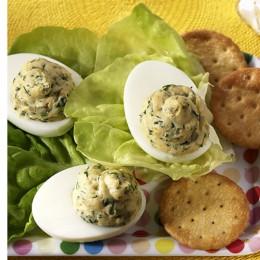 Russische Eier ohne Kaviar