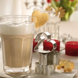 Design 3000 Ausstecher Latte Macchiato Glas