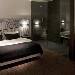 Die Zimmer in Becker's Hotel überzeugen mit modernem Design