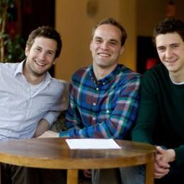 Moritz, Robert und Martin von Coffee Circle