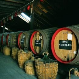 Madeirawein: Canteiro-Lagerung