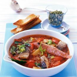 Spanische Küche: Fischeintopf