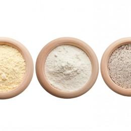 es gibt viele verschiedene Mehlsorten, die man unterschiedlich in der Küche einsetzen kann