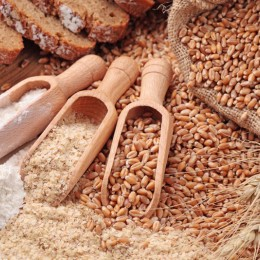 die Mehl-Type bestimmt den Ausmahlungsgrad an