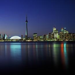 Toronto hat eine beeindruckende Skyline