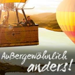 Ballons über Südafrika
