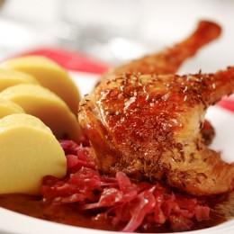 typisches Gerichte der böhmischen Küche
