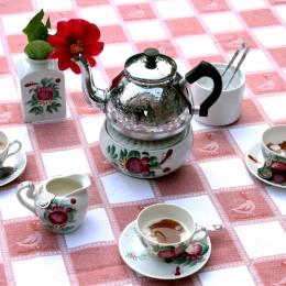 Teezeremonie in Ostfriesland