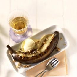Gegrillte Banane