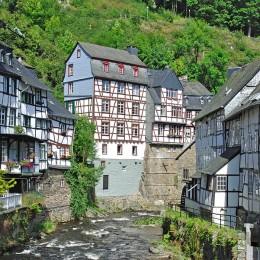 Monschau - die Perle der Eifel