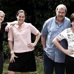 Familie Näkel vom Weingut Meyer-Näkel in Dernau
