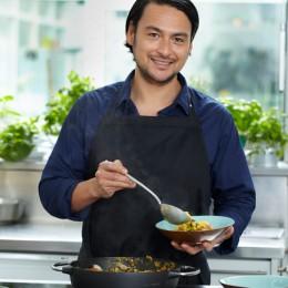 Marcel Stut kocht Paella