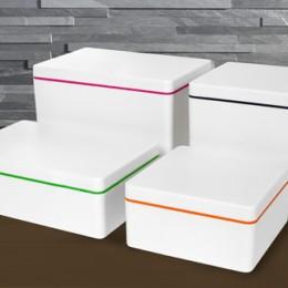 Aufbewahrungsboxen aus Biokunststoff von ajaa!
