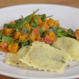 Just vegan, Nicole Just, selbstgemachte Ravioli